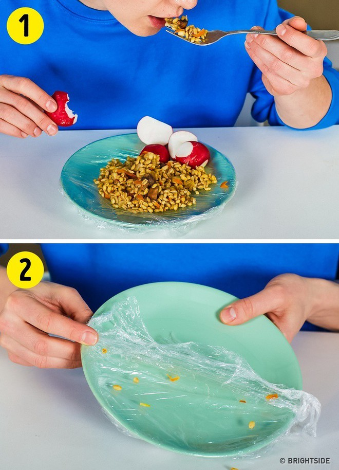 12 công dụng cực hữu ích nhưng chưa chắc bạn đã biết của màng bọc thực phẩm trong cuộc sống hàng ngày - Ảnh 12.