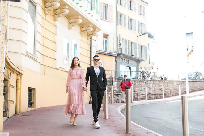Lần đầu lộ diện, ông xã Hoa hậu Áo dài Phí Thùy Linh đẹp trai như tài tử - Ảnh 9.