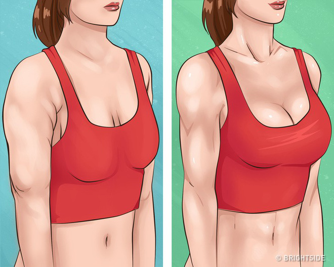 10 bài tập dễ dàng thực hiện cho cánh tay đẹp và ngực gọn gàng, căng mẩy