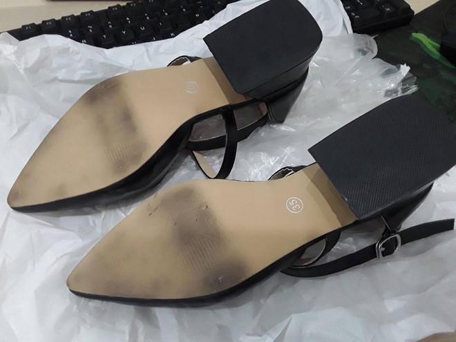 Cô gái mua giày cao gót về đi thử 8 ngày mòn cả đế rồi đòi trả lại shop vì lý do hơi rộng - Ảnh 1.