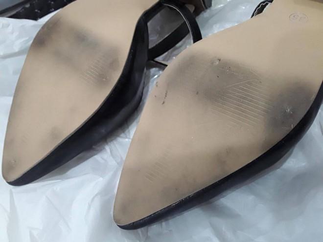 Cô gái mua giày cao gót về đi thử 8 ngày mòn cả đế rồi đòi trả lại shop vì lý do hơi rộng - Ảnh 2.