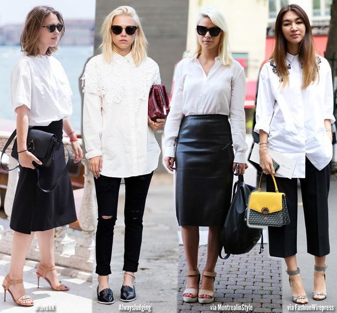Hè ngập nắng cùng sơ mi trắng và 5 kiểu cách điệu chỉ với cùng 1 chiếc áo - Ảnh 1.