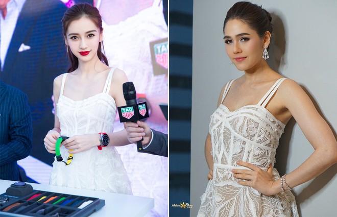 Cùng sửa lại váy xuyên thấu, Angela Baby đẹp tựa công chúa còn Chompoo Araya lại lép vế vì vóc dáng thô - Ảnh 9.