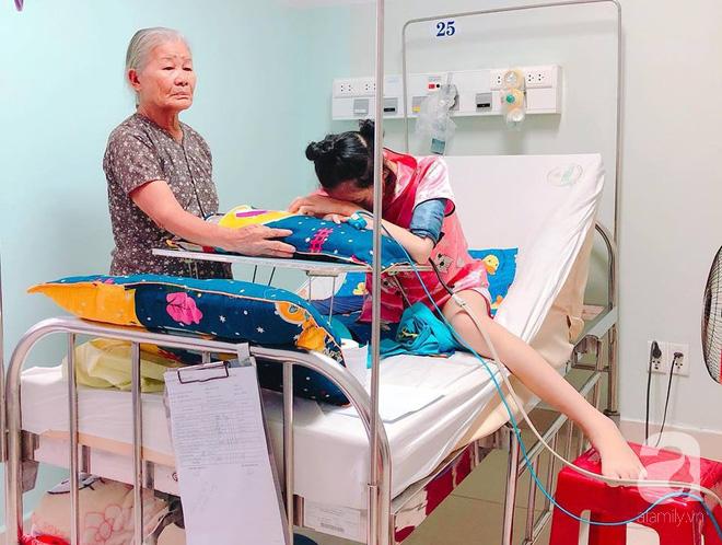 Vợ vừa mất, cha đau đớn nhìn con gái 16 tuổi xinh xắn phải cắt bỏ chân vì ung thư xương mà không đủ tiền chữa trị - Ảnh 6.