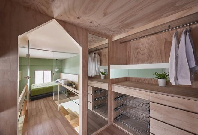 Ngôi nhà 40m² màu xanh matcha với thiết kế tầng lửng nhìn là yêu của gia đình trẻ - Ảnh 15.