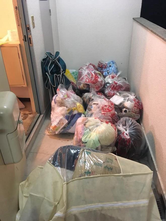 Nữ du học sinh ở Nhật thuê phòng trọ rồi bùng tiền, về nước để lại cả một núi rác khiến dân tình choáng váng