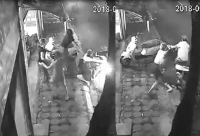 Nhóm phụ nữ Hà Nội xông vào chống trả quyết liệt tóm gọn tên trộm xe SH - Ảnh 2.
