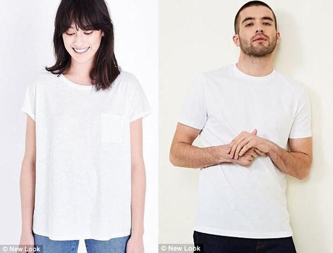 Cùng kiểu dáng nhưng áo phông nữ lại có giá cao hơn 45% so với áo nam và đây là lý giải cho sự chênh lệch này - Ảnh 4.