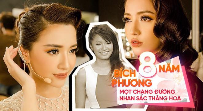 Hành trình thay đổi nhan sắc của Bích Phương: Sau 8 năm từ cô nàng Vietnam Idol đen nhẻm đến nhan sắc vạn người mê - Ảnh 1.