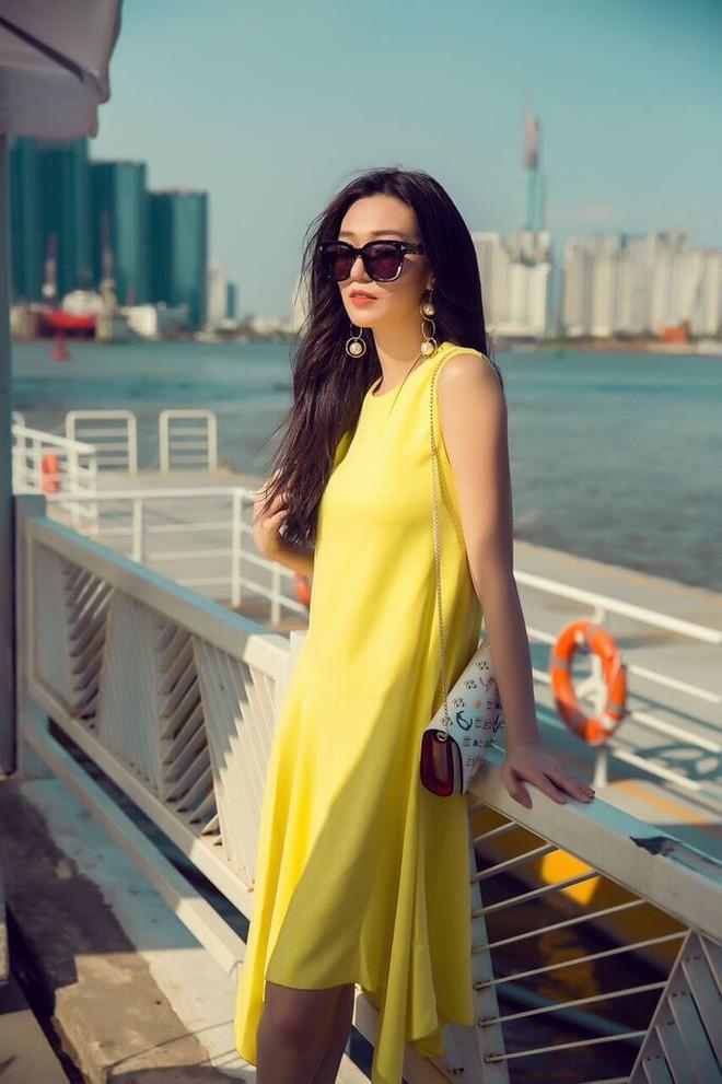 Kín đáo và thanh lịch, Khánh My vẫn cuốn hút với gu thời trang đẳng cấp - ảnh 4