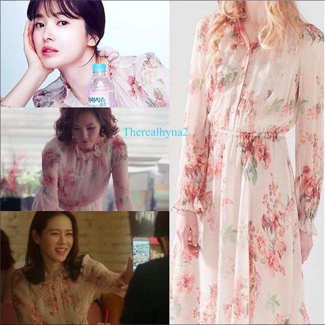Cơn sốt của chiếc váy hoa quốc dân: Đến cả Song Hye Kyo cũng chọn mặc để đóng quảng cáo đây này! - Ảnh 4.