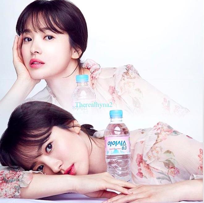 Cơn sốt của chiếc váy hoa quốc dân: Đến cả Song Hye Kyo cũng chọn mặc để đóng quảng cáo đây này! - Ảnh 2.