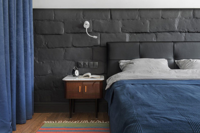 Cải tạo căn hộ từ không gian ảm đảm và nhạt nhòa thành rực rỡ sắc màu - Ảnh 13.