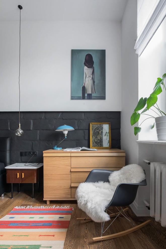 Cải tạo căn hộ từ không gian ảm đảm và nhạt nhòa thành rực rỡ sắc màu - Ảnh 16.