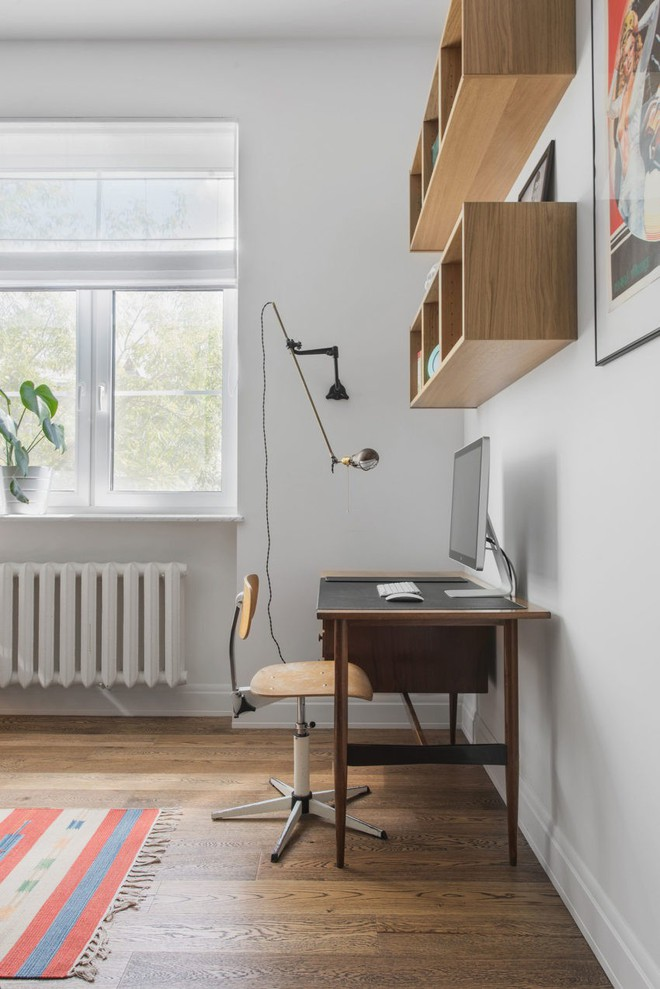 Cải tạo căn hộ từ không gian ảm đảm và nhạt nhòa thành rực rỡ sắc màu - Ảnh 17.