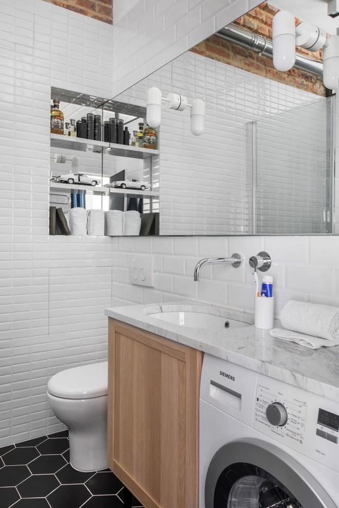Cải tạo căn hộ từ không gian ảm đảm và nhạt nhòa thành rực rỡ sắc màu - Ảnh 23.