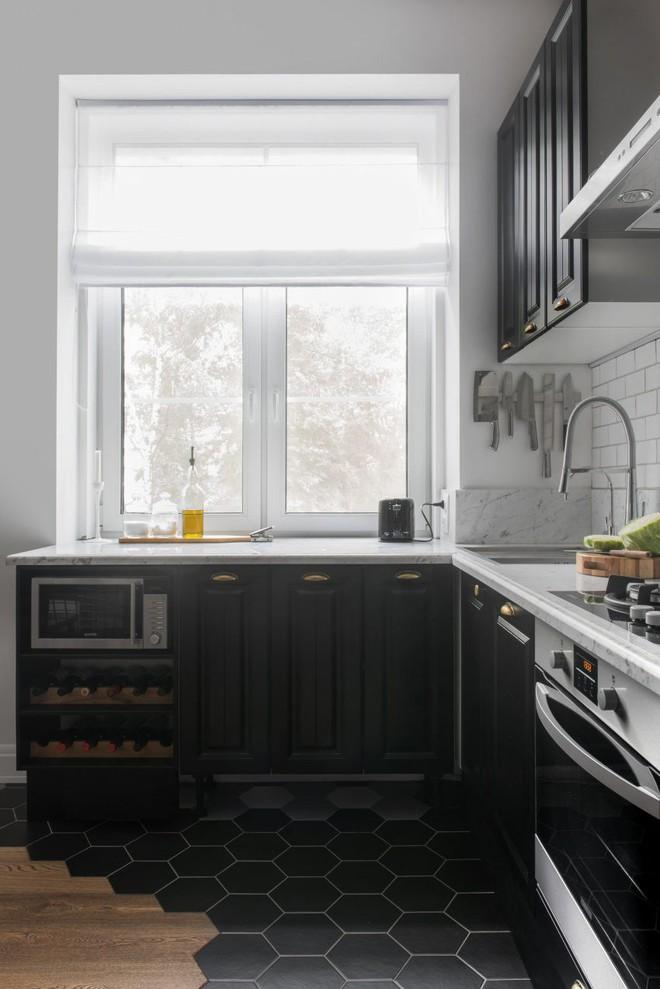 Cải tạo căn hộ từ không gian ảm đảm và nhạt nhòa thành rực rỡ sắc màu - Ảnh 8.