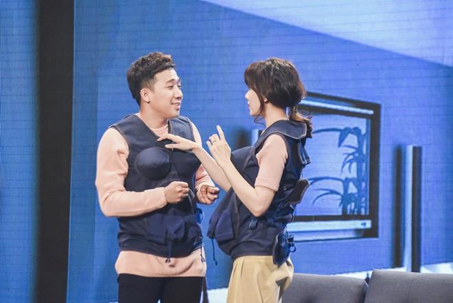 Hari Won đứng hình khi bị nhắc về 3 mối tình trước đây của Trấn Thành - Ảnh 4.
