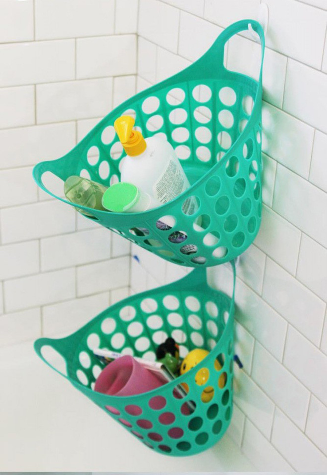 9 mẹo sắp xếp đồ đạc cực đơn giản này sẽ giúp phòng tắm nhà bạn gọn gàng, ngăn nắp trong vòng một nốt nhạc - Ảnh 2.