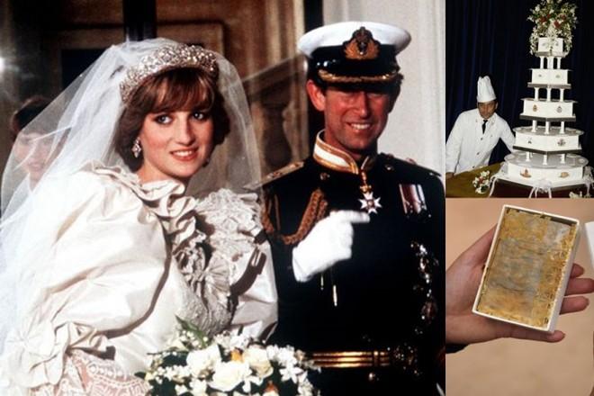 Nhiều năm trôi qua, bánh cưới từ 5 đám cưới Hoàng gia Anh sắp được đem ra đấu giá, bạn sẽ bất ngờ với giá trị thật của 1 miếng bánh - Ảnh 6.