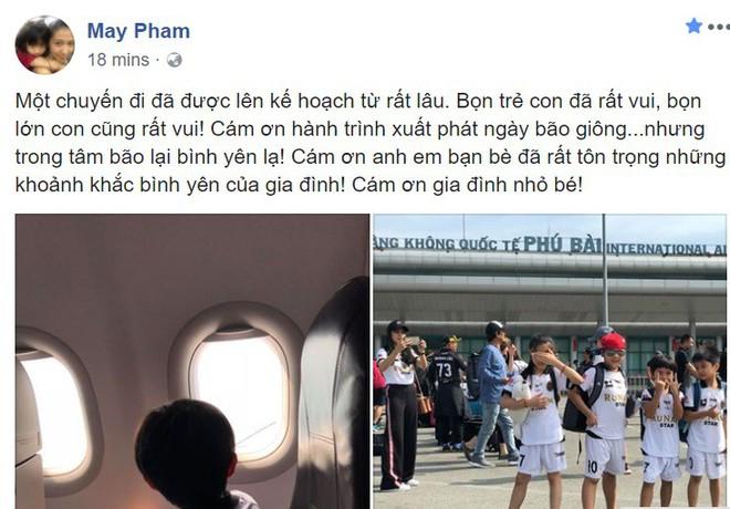 Đứng trước scandal kép của chồng, vợ Phạm Anh Khoa gây chú ý khi bày tỏ: trong tâm bão lại bình yên lạ! - Ảnh 5.
