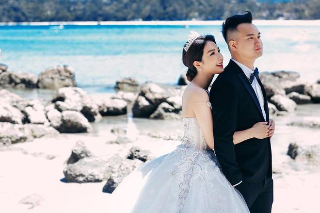 Hậu đám cưới bạc tỉ, Diệp Lâm Anh khoe ảnh cưới ngọt ngào cùng chồng thiếu gia  - Ảnh 3.