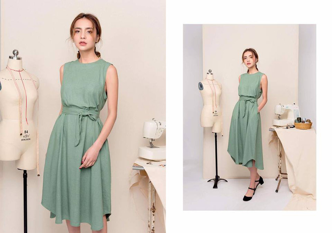 Mát lịm với 15 mẫu váy tay cộc mỏng nhẹ, mà giá loanh quanh 700 ngàn đồng dành cho các nàng dịp hè này - Ảnh 17.