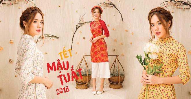 Còn đúng 1 tháng nữa là Tết, và đây là 7 mẫu áo dài cách tân đẹp duyên nhất cho nàng diện trong Tết này - Ảnh 21.