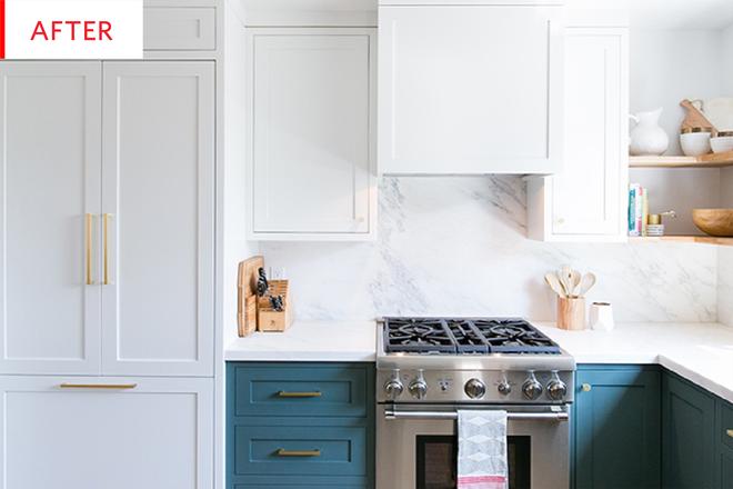 Ngắm phòng bếp này, bạn sẽ phải thừa nhận chọn đúng màu sắc sẽ tạo nên sự kỳ diệu - Ảnh 3.