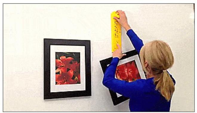 Bí quyết treo tranh tại gia đẹp cân đối, chuẩn từng milimet như ngoài triển lãm - Ảnh 3.