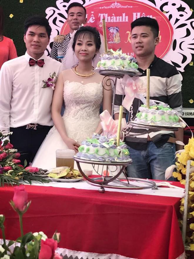 Tiết lộ hậu trường từ đám cưới nổi tiếng Thanh Hóa khách tặng 3 bao tải thóc mừng cô dâu chú rể - Ảnh 2.