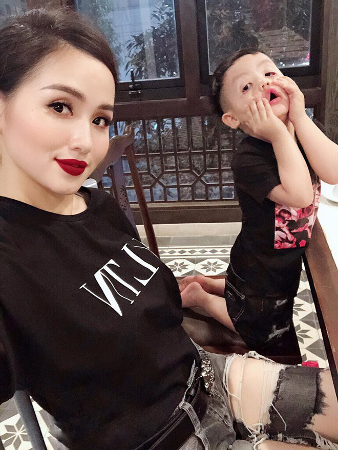 Ghen tị với tổ ấm chồng chiều con ngoan của những hot girl Việt đình đám - Ảnh 18.