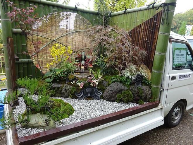 Xe tải cũ hỏng biến thành vườn cây xanh mát đẹp mê li, một lần nữa người Nhật lại khiến thế giới phải choáng váng - ảnh 12