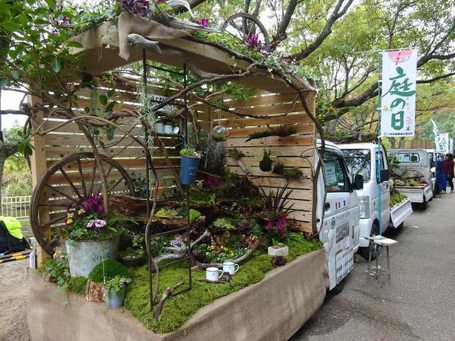 Xe tải cũ hỏng biến thành vườn cây xanh mát đẹp mê li, một lần nữa người Nhật lại khiến thế giới phải choáng váng - ảnh 11
