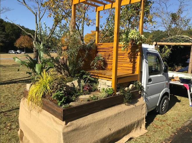 Xe tải cũ hỏng biến thành vườn cây xanh mát đẹp mê li, một lần nữa người Nhật lại khiến thế giới phải choáng váng - ảnh 21