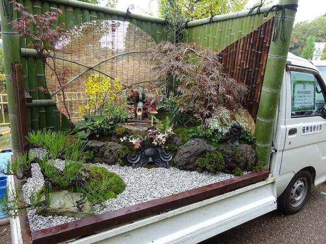 Xe tải cũ hỏng biến thành vườn cây xanh mát đẹp mê li, một lần nữa người Nhật lại khiến thế giới phải choáng váng - ảnh 7