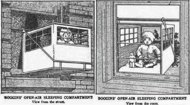 """Phát minh kỳ lạ nhất thế kỷ 20: Những chiếc lồng sắt """"phơi"""" trẻ em bên ngoài cửa sổ khiến nhiều người đứng tim - Ảnh 6."""
