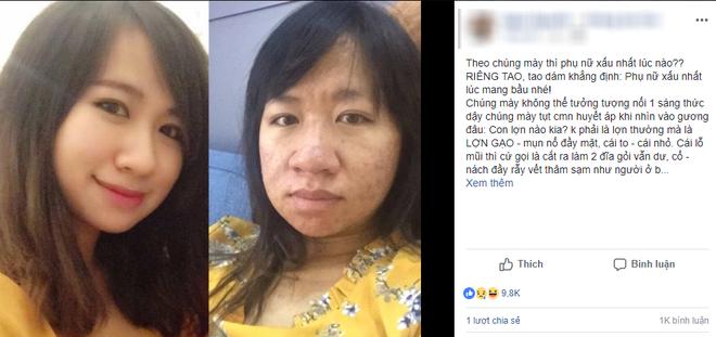 Chia sẻ hình ảnh trước và sau khi có thai với dung nhan một trời một vực, chị gái này đã chứng minh: Phụ nữ xấu nhất lúc mang bầu! - Ảnh 1.
