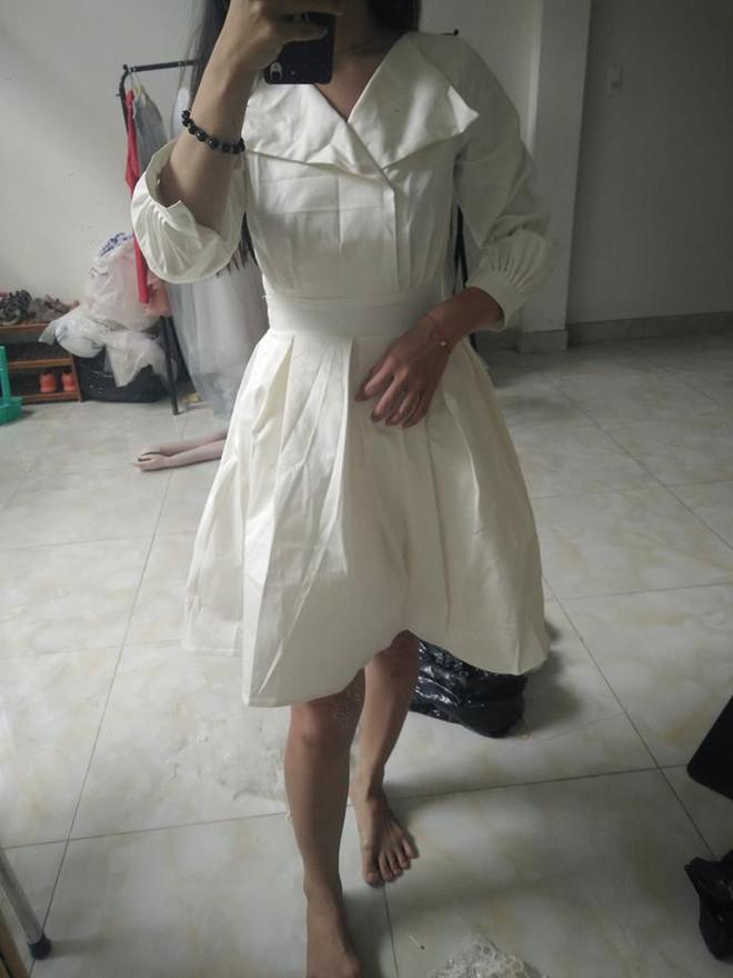 Bỏ ra 650 nghìn mua váy công chúa qua mạng, cô nàng cay đắng nhận về chiếc giẻ lau không hơn không kém - ảnh 3