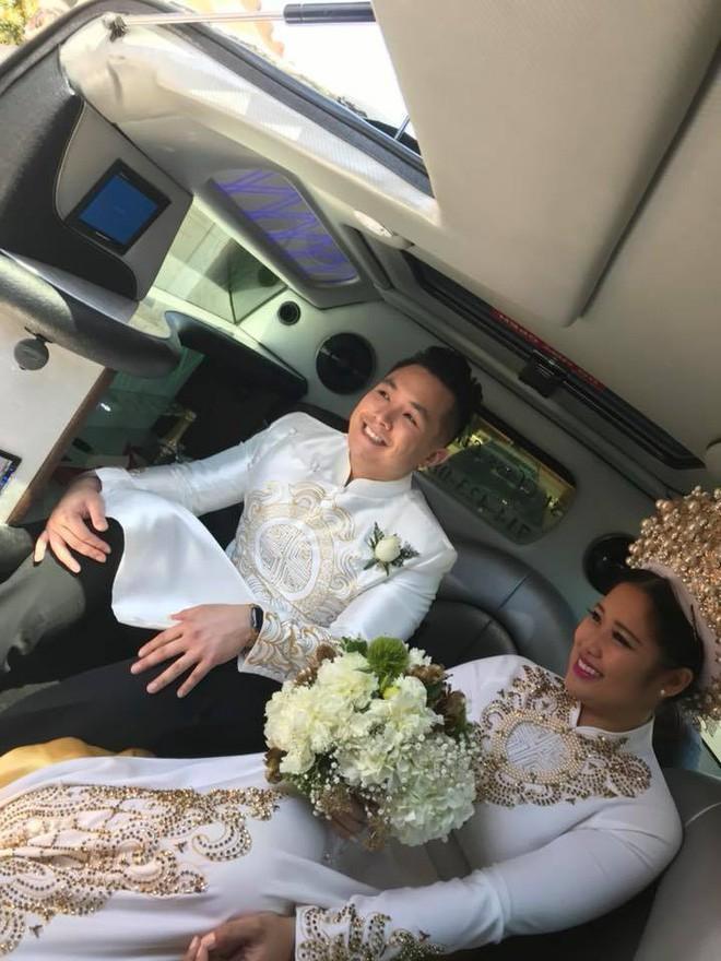 Con gái cao 1m78, xinh như hoa hậu của NSƯT Hồng Vân lên xe hoa cùng bạn trai 6 năm - ảnh 3