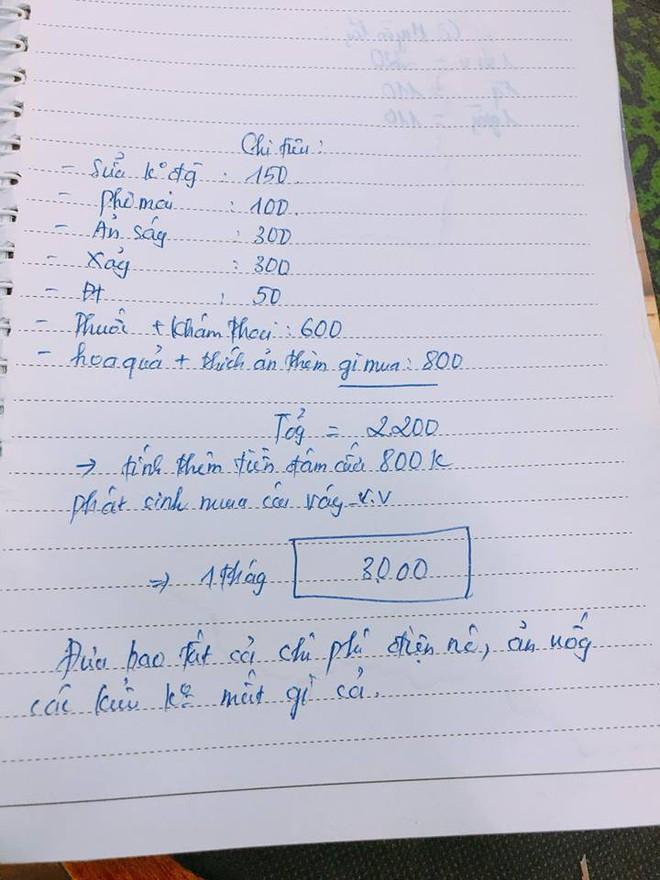 Chị em tròn mắt đọc bảng chi tiêu 3 triệu/tháng của mẹ bầu, hỏi ra mới biết bí mật mang tên mẹ chồng - Ảnh 2.