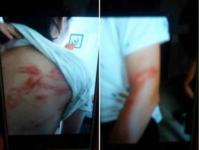 Hà Nội: 2 cháu bé bị bố đẻ khóa trái cửa bạo hành dã man, bà ngoại gửi đơn cầu cứu - Ảnh 2.