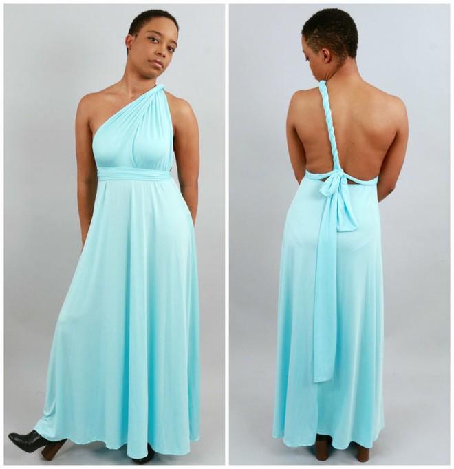 Trải nghiệm váy thần kỳ mặc được chục kiểu khác nhau: Đời không như là mơ - Ảnh 12.