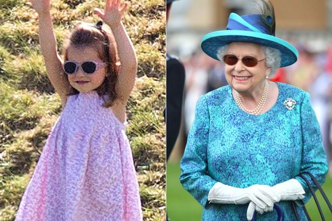 Chả trách Công chúa Charlotte lại có thần thái xuất chúng đến như vậy, hóa ra cô bé chính là bản sao hoàn hảo của Nữ hoàng - Ảnh 10.