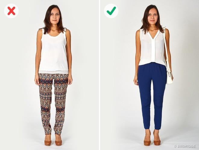 Vạch trần 6 lỗi cơ bản trong ăn mặc khiến bạn trông béo hơn - Ảnh 2.