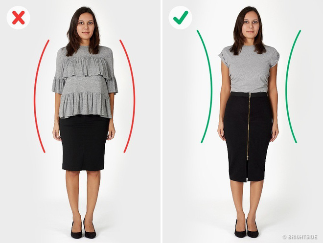 Vạch trần 6 lỗi cơ bản trong ăn mặc khiến bạn trông béo hơn - Ảnh 3.