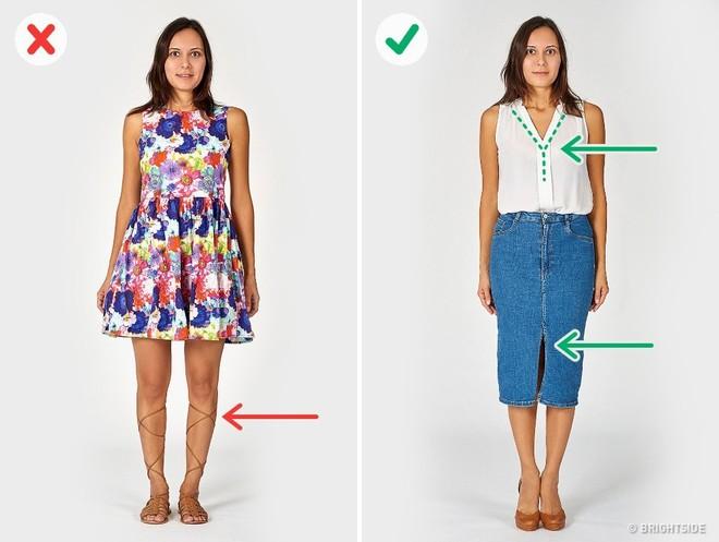 Vạch trần 6 lỗi cơ bản trong ăn mặc khiến bạn trông béo hơn - Ảnh 4.
