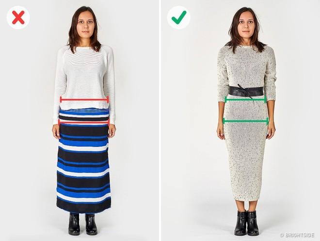 Vạch trần 6 lỗi cơ bản trong ăn mặc khiến bạn trông béo hơn - Ảnh 6.