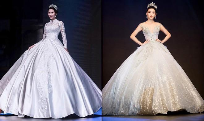 Cùng hóa cô dâu trong cổ tích, H'Hen Niê và Huyền My khiến người ta khó mà phân định: Ai đẹp hơn ai? - Ảnh 8.