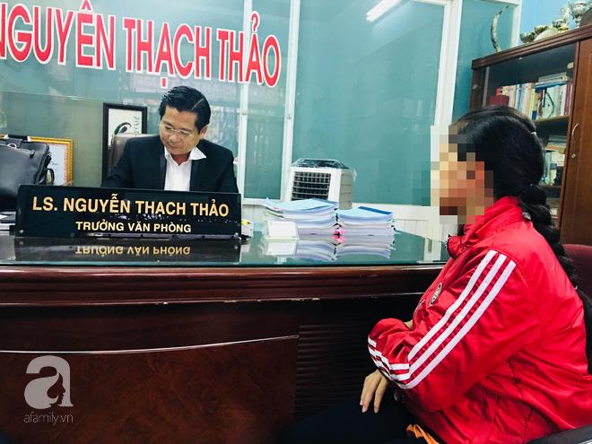Luật sư Nguyễn Thạch Thảo sẽ bắt đầu hỗ trợ pháp lý cho gia đình bé H.